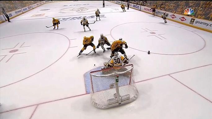 NHL : les Predators fondent sur les Penguins