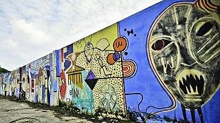 Nigeria : des graffitis pour promouvoir les arts de la rue