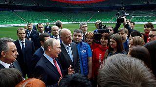 Russia pronta per Confederations Cup