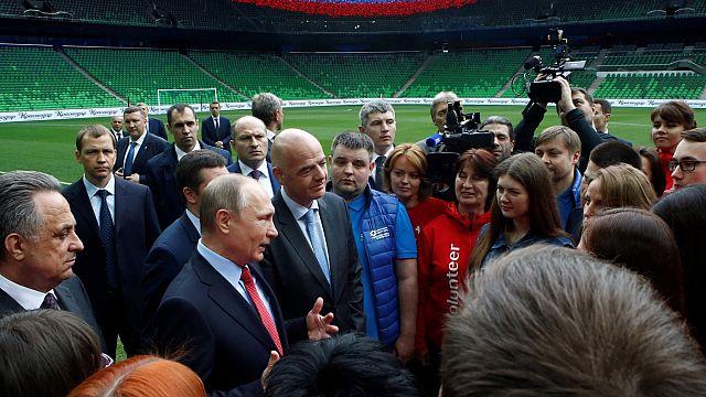 Rusya'da Konfederasyon Kupası için güvenlik alarmı