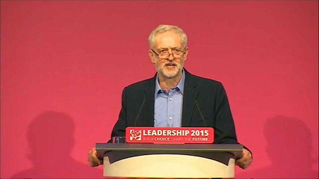 Корбин, самый левый лейборист