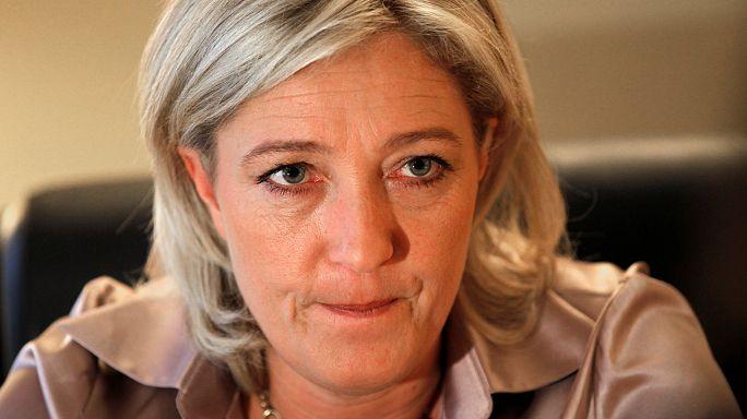 """Marine Le Pen """"fertig"""""""