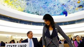 US reviews role in UN Human Rights Council