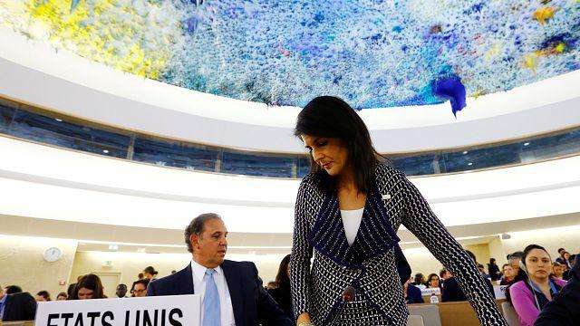 Onu: Usa pensano a ritiro da Consiglio diritti umani