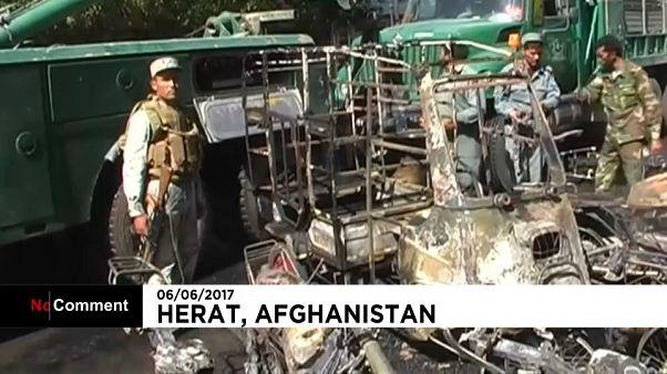 Καμπούλ: Η στιγμή της έκρηξης