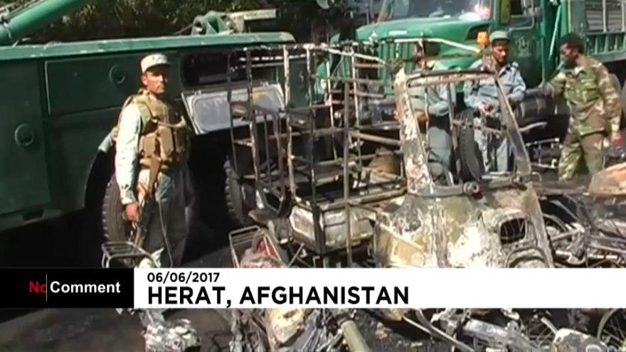 Al menos 7 muertos en una explosión en Afganistán