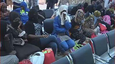 La Libye renvoie 26 migrants nigérians illégaux au bercail