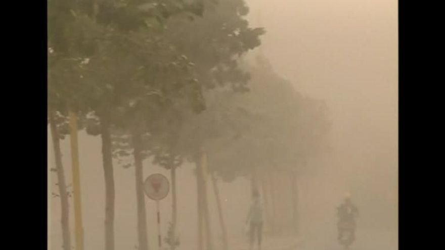 """""""Gelber Drache"""": Sandstürme über Chinas Norden"""
