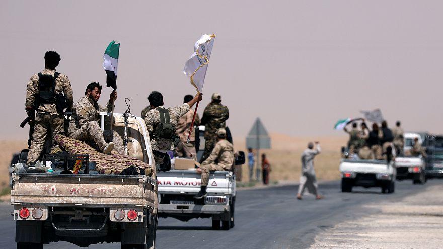 Suriye Demokratik Güçleri Rakka'da