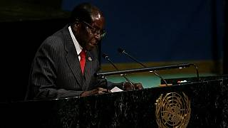 Zimbabwean President Mugabe calls for an end to sanctions on his country