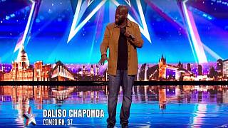 Malawian comic finishes third in top British talent show