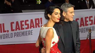 Джордж Клуни - папа!