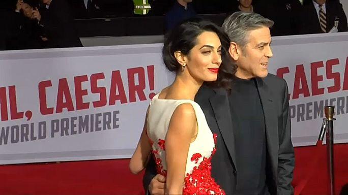 Clooneys Zwillinge sind da