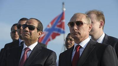 Putin's call to Al-Sisi centers on crisis in North Africa and Middle East