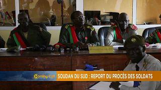 Soudan du sud : Report du procès des soldats accusés de viol [The Morning Call]