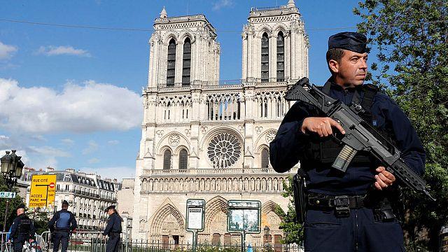 Avanza la investigación sobre el ataque de Notre-Dame