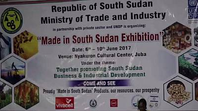 Made in South Sudan exhibition kicks off in Juba