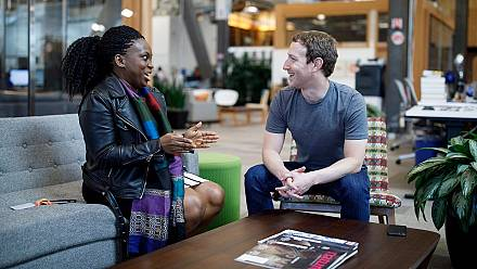Facebook CEO lauds Nigerian woman leading a huge online community