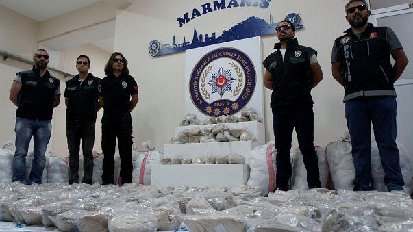 Rekordméretű heroinfogás Törökországban