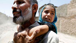 Жители Мосула бегут из-под огня
