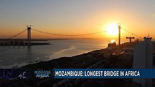 Au Mozambique, la construction du pont suspendu le plus long d'Afrique est en cours et devrait attirer plus d'investissements [Business Africa]