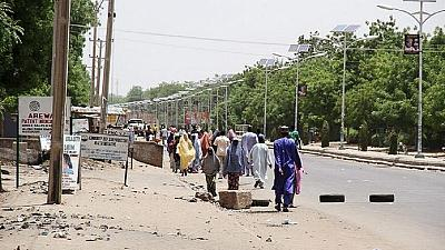 Dozens of Boko Haram fighters attack northeast Nigeria town