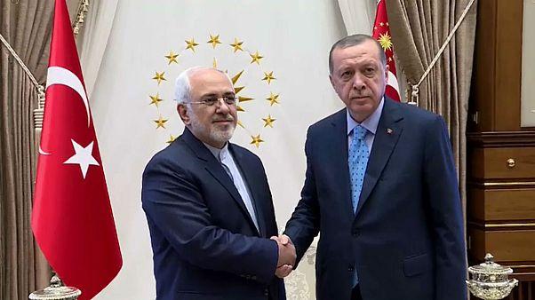 İran Dışişleri Bakanı Zarif Türkiye'de