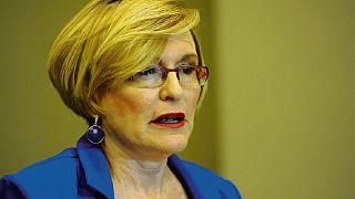 L'ex-cheffe du principal parti d'opposition sud-africain suspendue