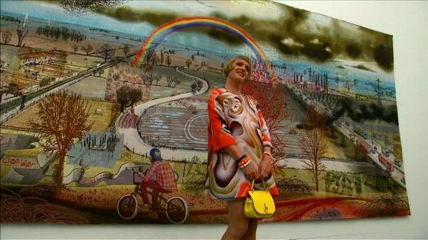 Brexit, May, bunt: Künstler Grayson Perry in London
