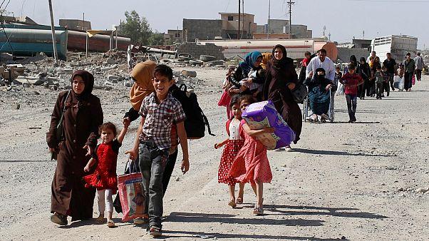 کشتار بیش از ۲۰۰ غیرنظامی توسط داعش در موصل