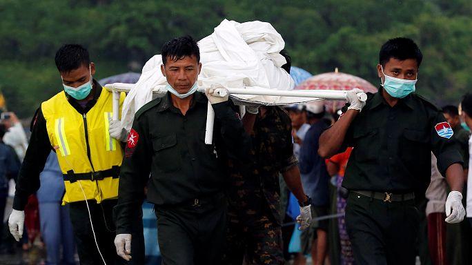 Myanmar: Militärflugzeug abgestürzt - etwa 30 Leichen geborgen