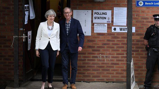Parlamentswahlen in Großbritannien: May oder Corbyn?