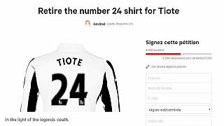 Retire Tiote's Number 24 shirt – Newcastle fans urge club