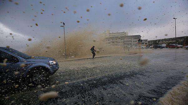 Mini-Tsunami in Kapstadt