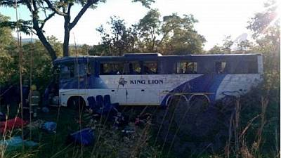 43 morts dans un accident de bus — Zimbabwe