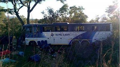 43 morts dans un accident de bus — Zimbabwe