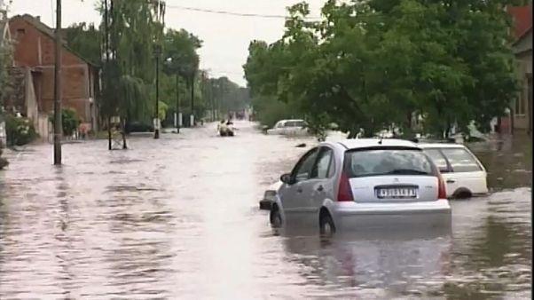 Serbien: Land unter nach heftigen Regenfällen