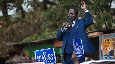 Kenya's Odinga evokes ghost of 2008 chaos, urges fair election