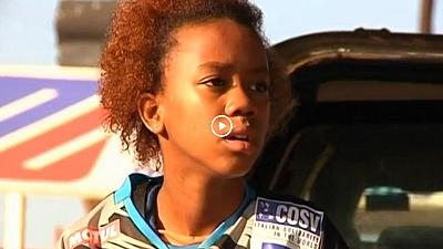 Zimbabwean 12 year-old girl defies odds to become first female motocross champion