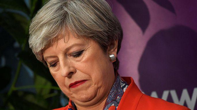 """Theresa May: """"Das Land braucht Stabilität"""