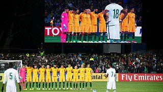 L'équipe saoudienne de football choque en ignorant une minute de silence