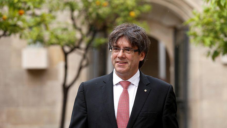 Puigdemont convoca el referéndum de independencia para el 1 de octubre
