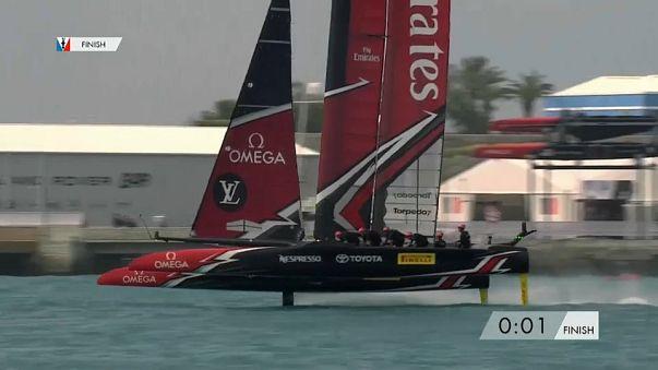 Kiwis sail through to America's Cup final