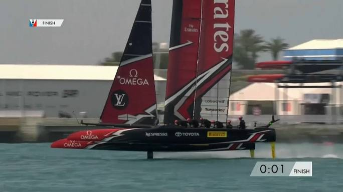 Neuseeland im Finale des America's Cup