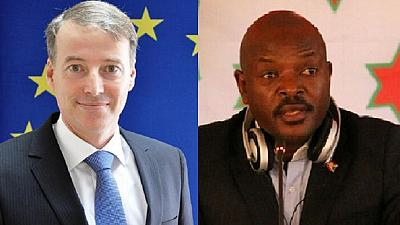 EU diplomat says claims of meddling in Burundi politics is 'fake news'