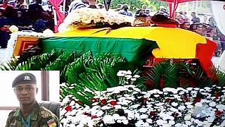 Ghana gives state burial to top soldier who was lynched