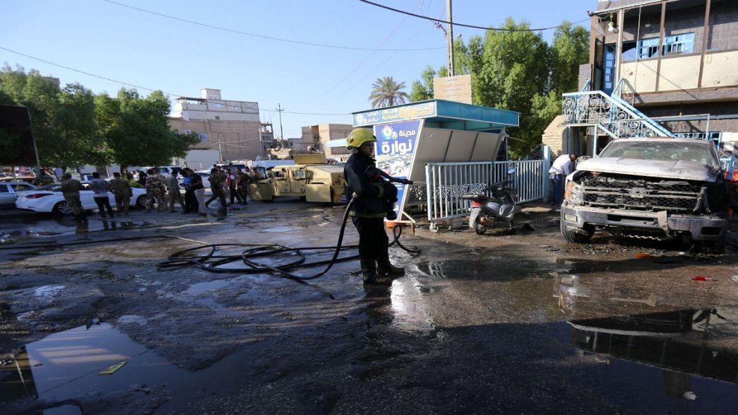 عشرات القتلى جراء هجومين تفجيريين في العراق