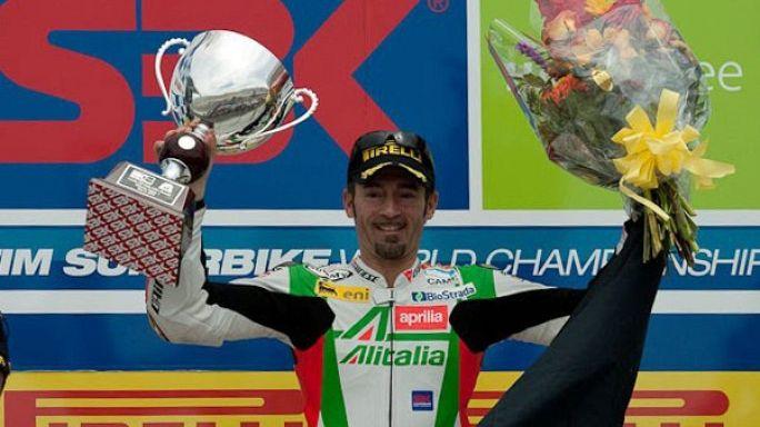 Moto: frattura alle costole per Max Biaggi, guarirà in 30 giorni