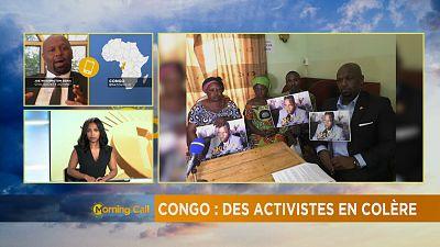 Congo : Des activistes en colère [The Morning Call]