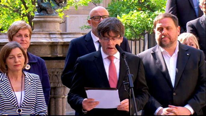 Madrid insiste en que el referéndum independentista catalán es inconstitucional